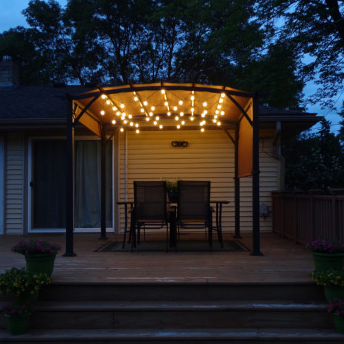 porch string lights